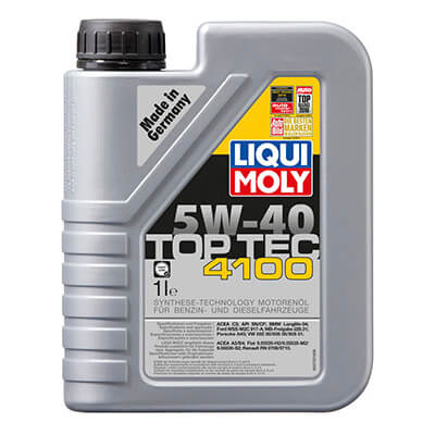 Масло моторное Liqui Moly TopTec 4100 5W-40, 1л 7500